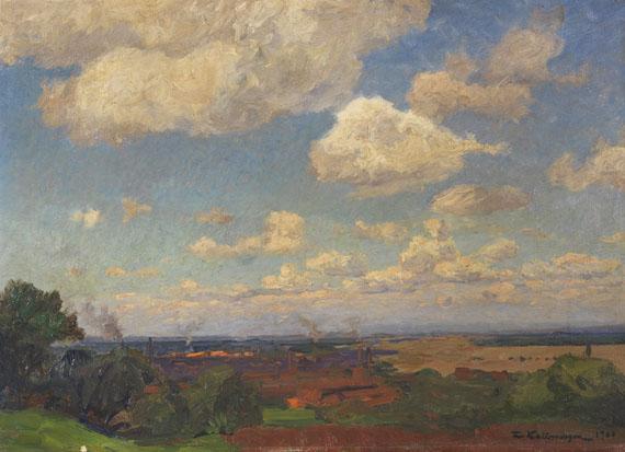 Friedrich Kallmorgen - Sommerwolken
