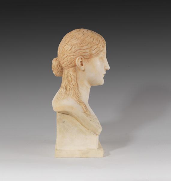 Artur Volkmann - Weibliche Porträtbüste II - Weitere Abbildung