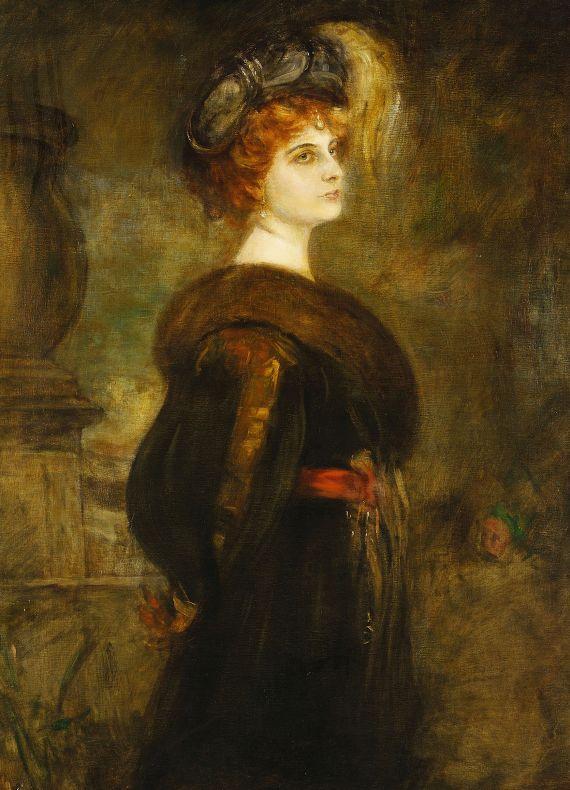 Franz von Lenbach - Lily Merk