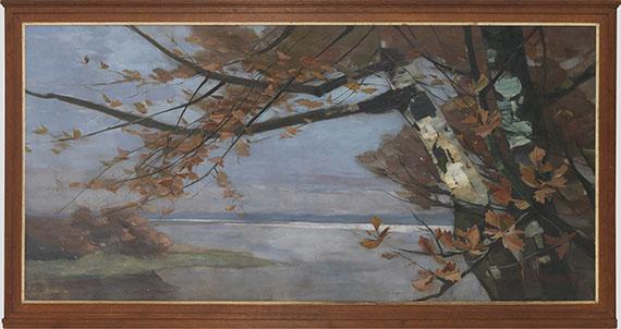 Karl Hagemeister - Herbst III - Frame image