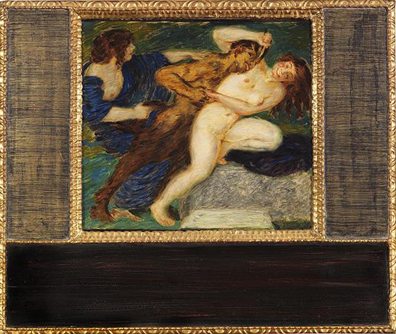 Franz von Stuck - Scherzo - Frame image