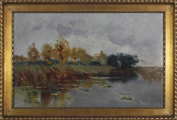 Karl Hagemeister - Märkische Seenlandschaft am Schwielowsee - Frame image