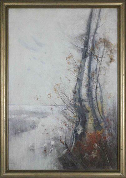 Karl Hagemeister - Märkische Herbstlandschaft (Wentorfgraben) - Frame image