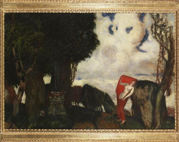 Franz von Stuck - Iphigenie auf Tauris - Frame image