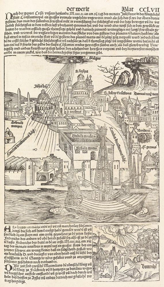 Hartmann Schedel - Weltchronik, Deutsche Ausgabe. - Weitere Abbildung