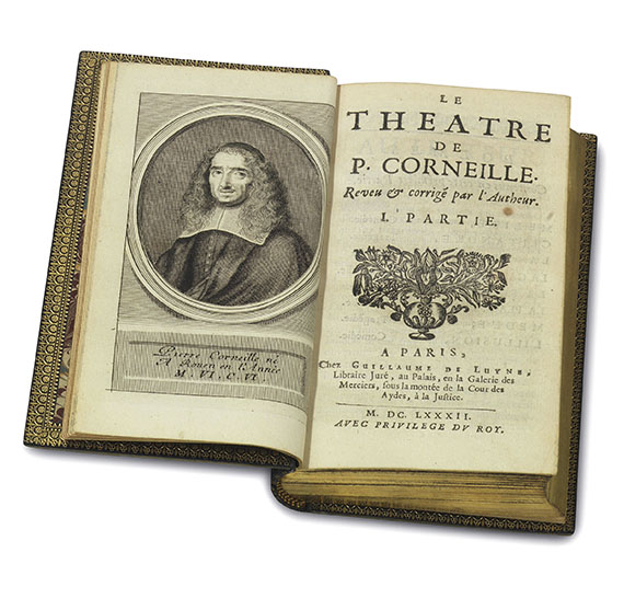 Pierre Corneille - Le Theatre. Poems. 9 Bde. -