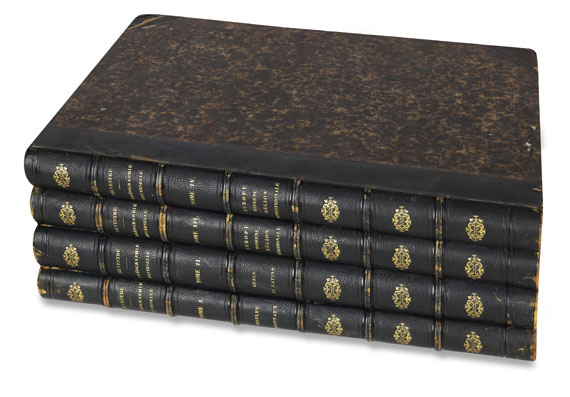 Joseph Balthazar Silvestre - Paléographie universelle. 1841. 4 Bde. - Weitere Abbildung