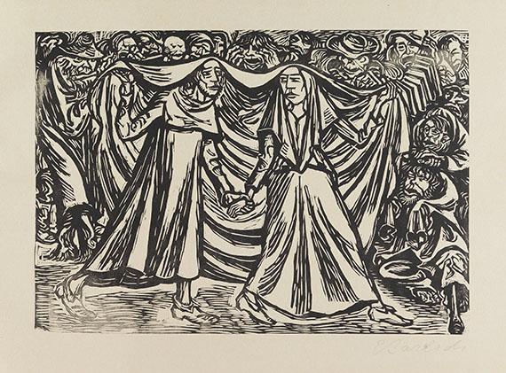 Ernst Barlach - Die Wandlungen Gottes (Edition B) -