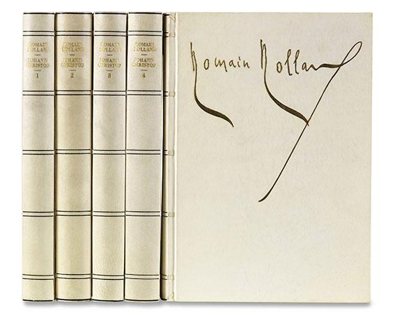 Frans Masereel - R. Rolland, Johann Christof, 5 Bände.