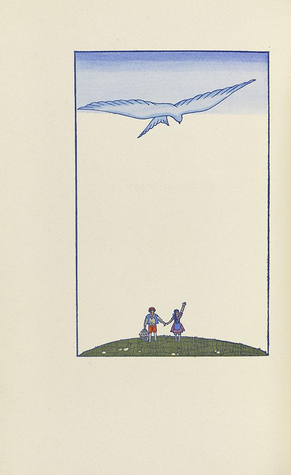 Georges Lepape - L'oiseau bleu. 1925 - Weitere Abbildung