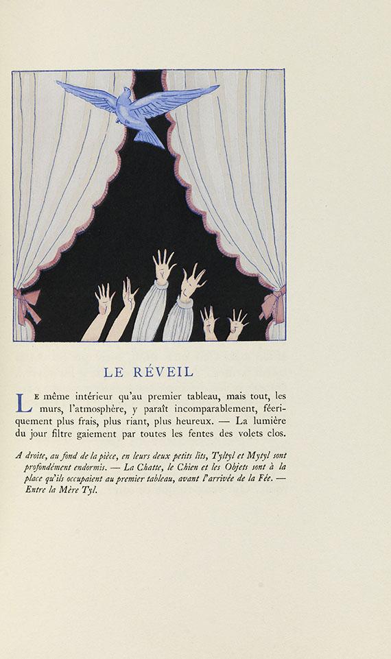 Georges Lepape - L'oiseau bleu. 1925