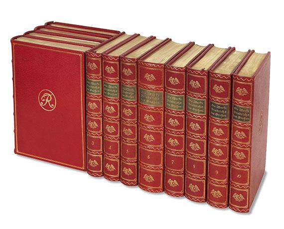 Friedrich II. der Große - Die Werke Friedrichs des Großen. 12 Bde. -