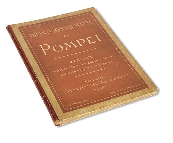 Edoardo Cerillo - Dipinti murali scelti di Pompei -
