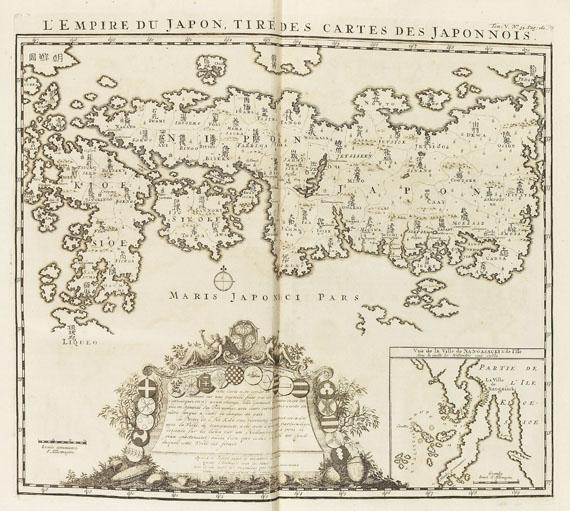 Henri Abraham Châtelain - Atlas historique. 7 Bde. -