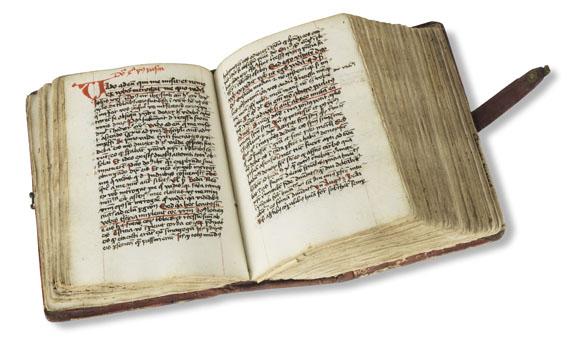 Manuskripte - Sermones. Lat. Handschrift 15. Jh. -