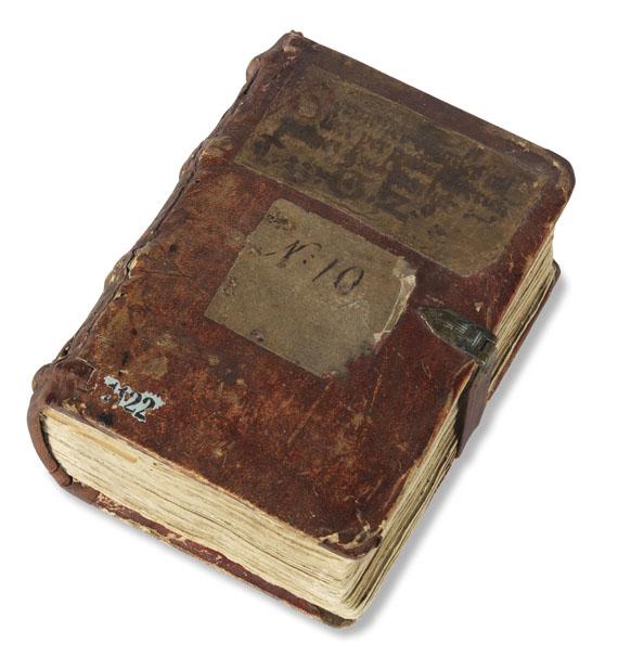 Manuskripte - Sermones. Lat. Handschrift 15. Jh.