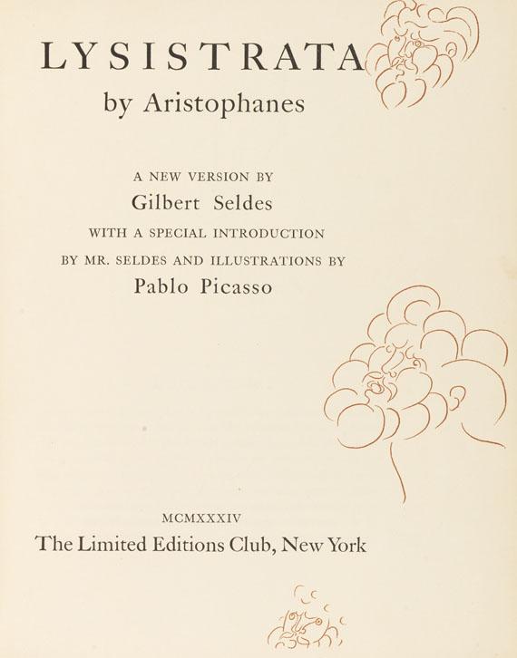 Pablo Picasso - Aristophanes, Lysistrata