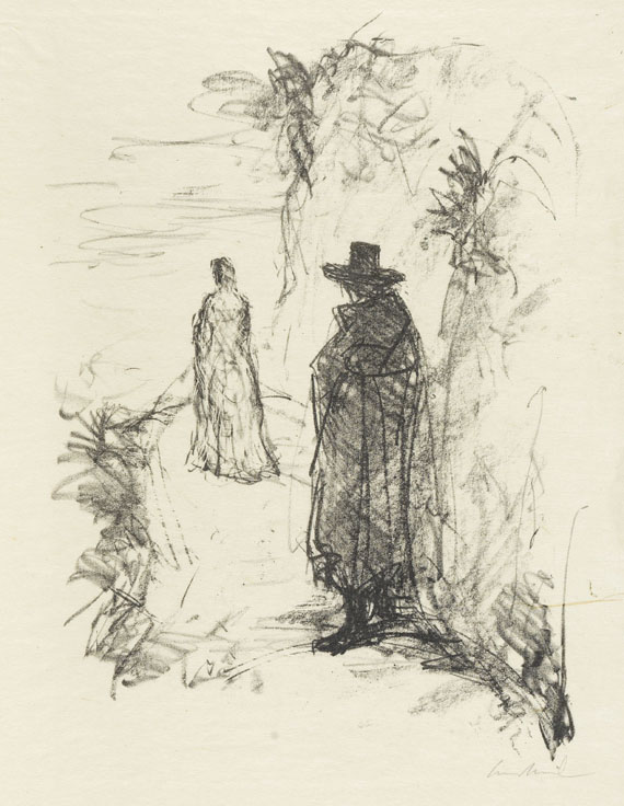 Johann Wolfgang von Goethe - Gedichte, 4 Folgen. 1924-26.