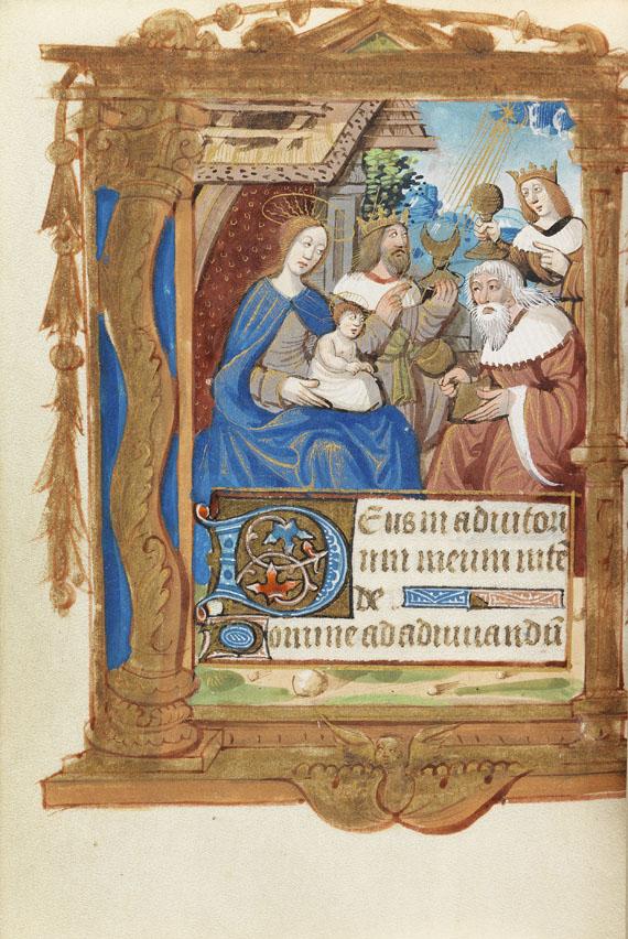 - Französisches Stundenbuch, um 1490-1500 -
