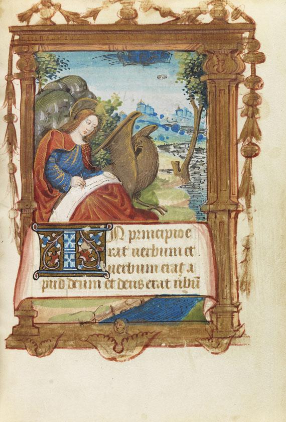 Stundenbuch - Französisches Stundenbuch, um 1490-1500