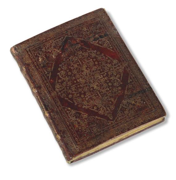 Manuskripte - Gebetbuch auf Pergament. Anfang 18. Jh. -