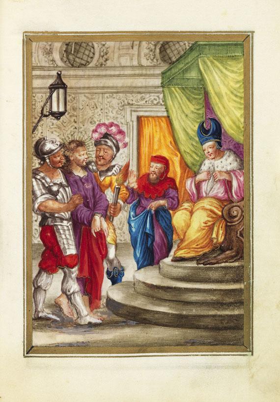 Manuskripte - Gebetbuch auf Pergament. Anfang 18. Jh.