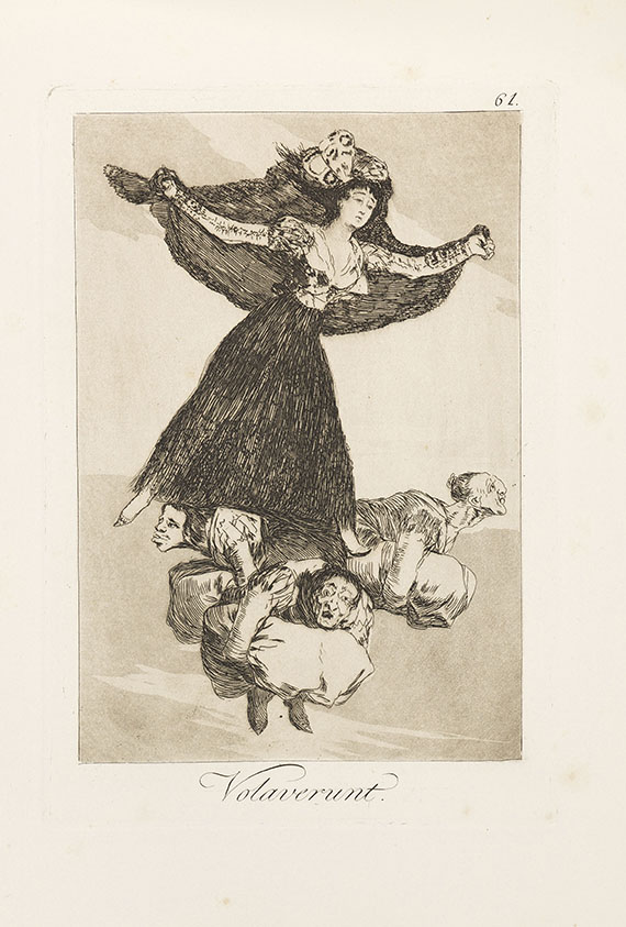 Francisco de Goya - Los Caprichos.
