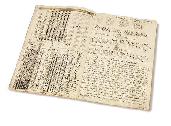 - Bergbau/Musikhandschrift. -