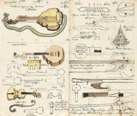 Bergbau-Musikhandschrift - Bergbau/Musikhandschrift.