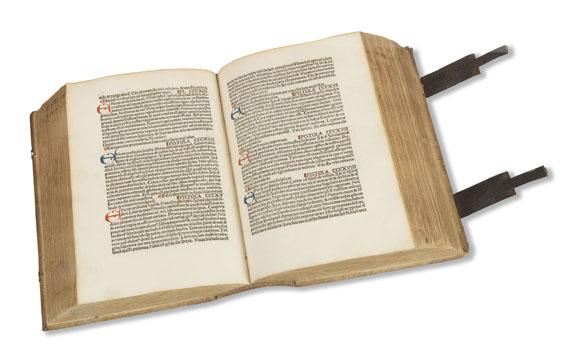 Pius II. (Aeneas Sylvius Picco - Epistolae, 1496. - Angeb.: Franciscus Niger, Grammatica, Basel 1500. -