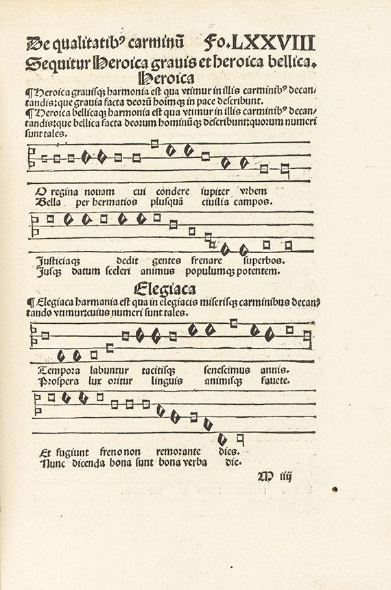 Pius II. (Aeneas Sylvius Picco - Epistolae, 1496. - Angeb.: Franciscus Niger, Grammatica, Basel 1500.