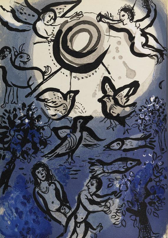 Marc Chagall - Dessins pour La Bible.