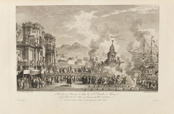 Jean Claude Richard de Saint-Non - Naples et Sicile, 5 Bde. - Weitere Abbildung