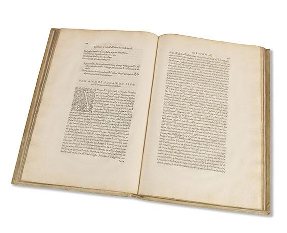 Dio Cassius - Romanarum historiarum libri. - Weitere Abbildung