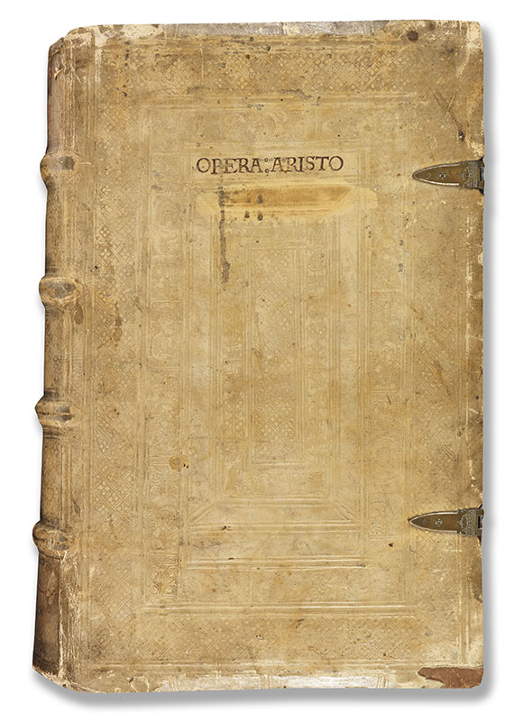Aristoteles - Opera, 3 Tle. in 1 Bd. Basel 1548. - Weitere Abbildung