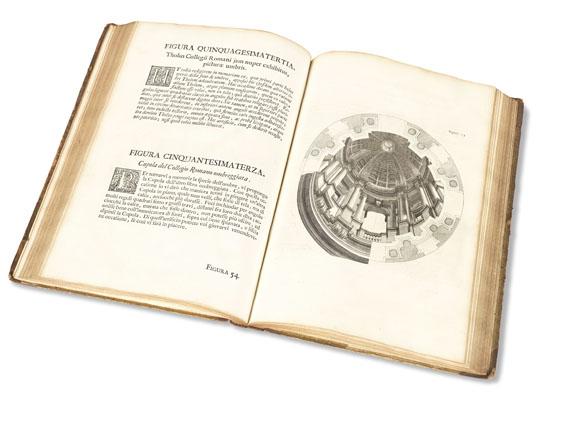 Andrea Pozzo - Perspectiva pictorum et architectorum. 2 Bde.