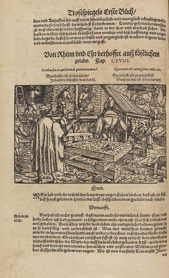 Francesco Petrarca - Hüff, Trost und Rath in allen Anligen. 1572.
