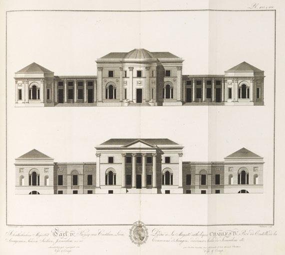 Christian Ludwig Stieglitz - Zeichnungen aus der schönen Baukunst. 1805.