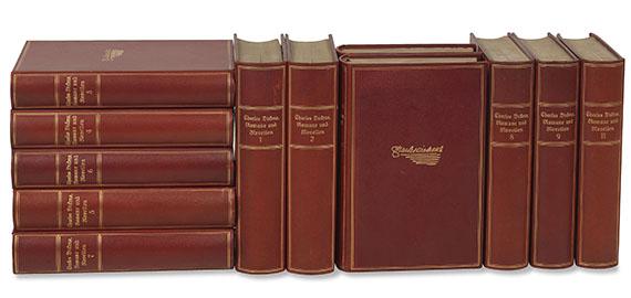 Charles Dickens - Ausgewählte Romane und Novellen, 12 Bde.