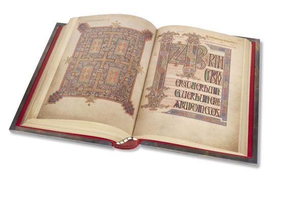 - Das Buch von Lindisfarne. - Weitere Abbildung