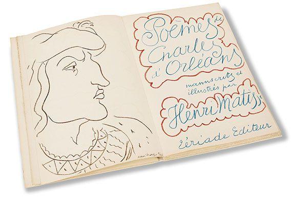 Henri Matisse - Poémes de Charles d'Orleans