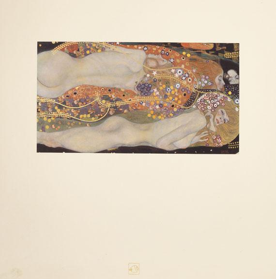 Gustav Klimt - Das Werk Gustav Klimts. 5 Lieferungen -