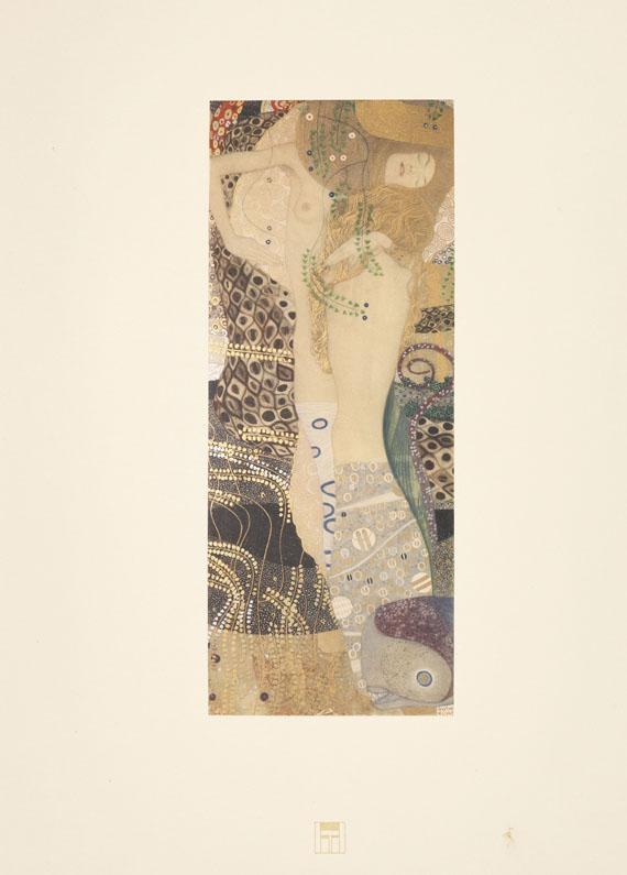 Gustav Klimt - Das Werk Gustav Klimts. 5 Lieferungen.
