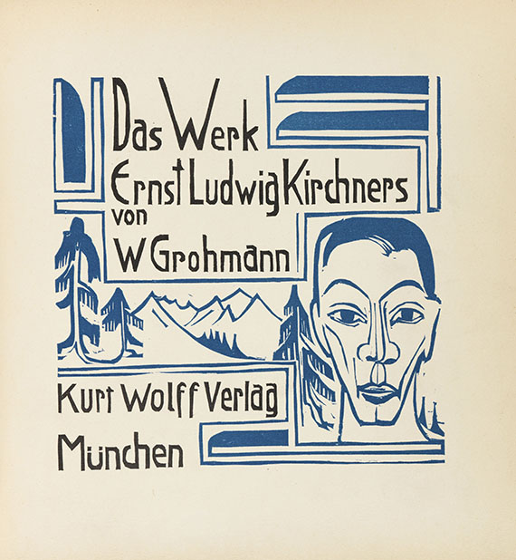 Will Grohmann - Das Werk Ernst Ludwig Kirchners
