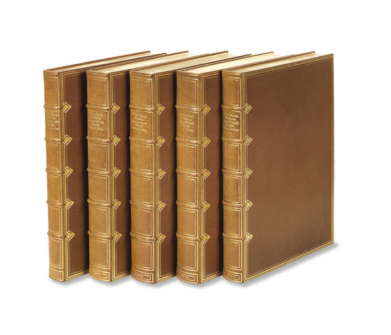 Bremer Presse - Biblia Germanica. 5 Bde. Bremer Presse, 1926.