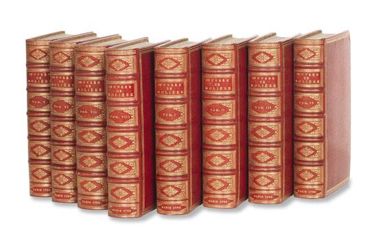 Jean Baptiste Poquelin Molière - Oeuvres. 8 Bde.