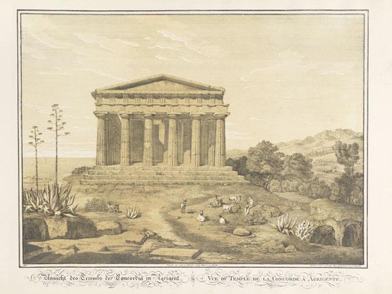 Friedrich von Gärtner - Ansichten Siciliens