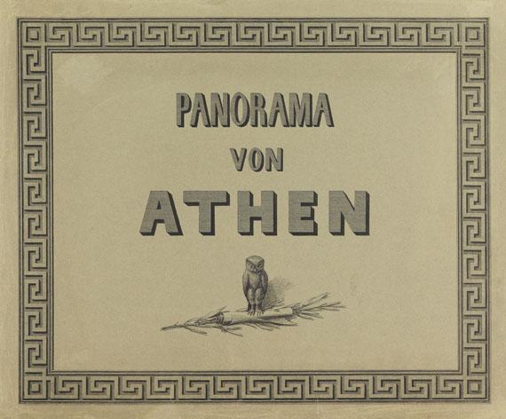 Ferdinand Stademann - Panorama von Athen - Weitere Abbildung
