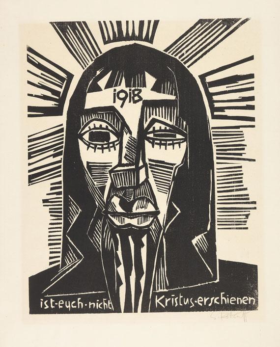 Karl Schmidt-Rottluff - 10 Bll. Holzschnitte -