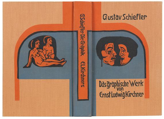 Gustav Schiefler - Die Graphik Ernst Ludwig Kirchners. 2 Bde.